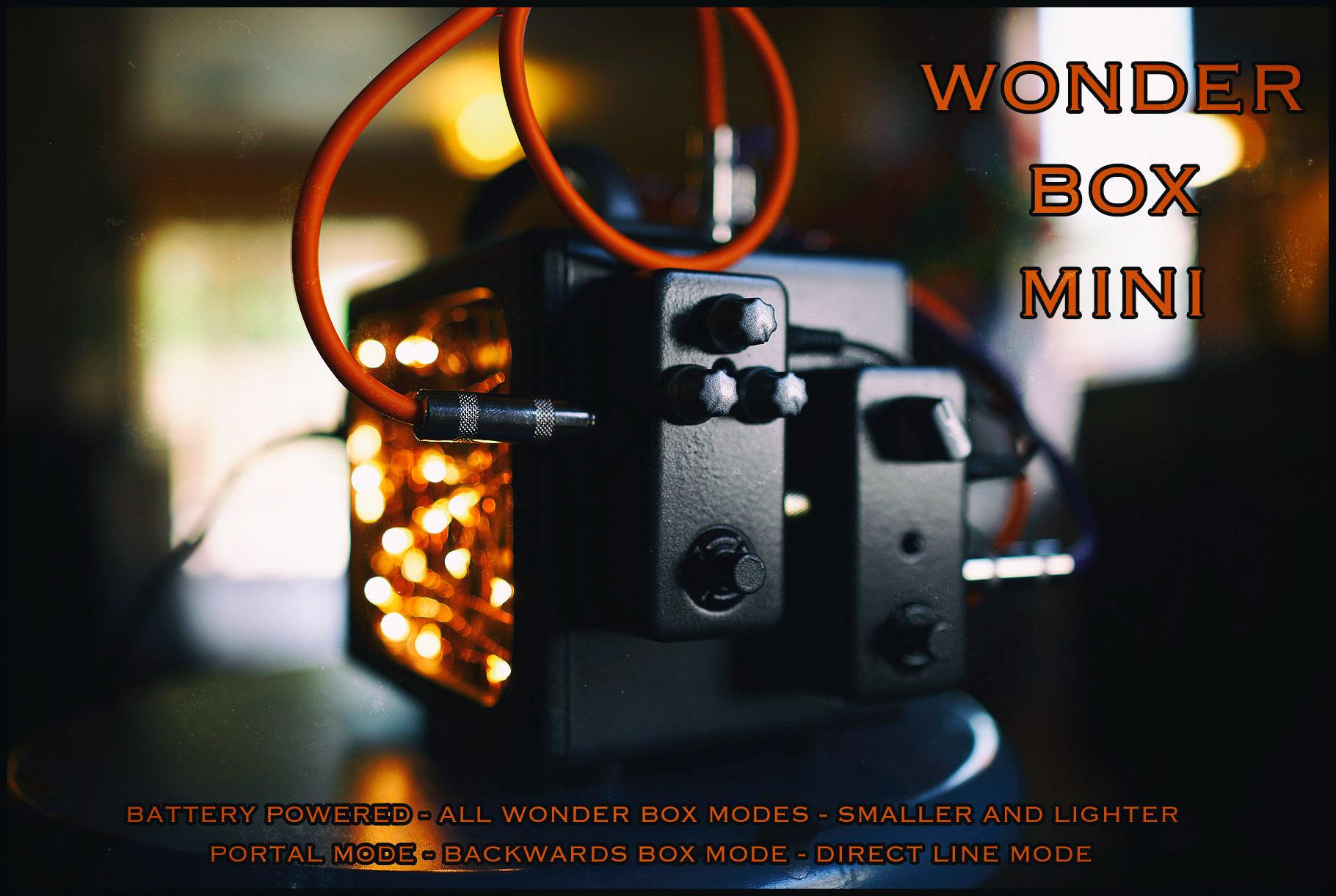 Wonder Box Mini First Test Murmur Box And Police Scanner Huff
